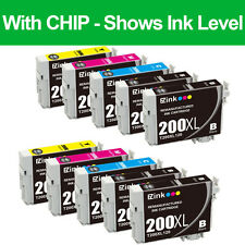 10PKs Remanufactured 200 XL Ink Cartridge For Epson Expression Home XP-410