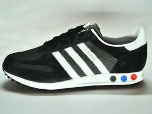 Adidas LA Trainer/Wildleder/Mesh/schwarz/weiß/Originals/Größe 46 2/3/F34275