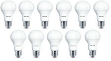 11x Philips LED Frosted E27 100w Warm White Edison Screw Light Bulbs Lamp 1521lm