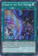 Forge of the True Dracos - BOSH-ENSE4 - Super Rare  YUGIOH