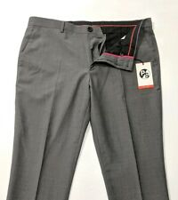 New Paul Smith Mens Trousers Slim Fit Wool Mohair W36 L34 Unfinished Hem £225