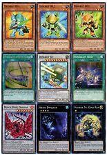 Yugioh Deskbot Deck - Abyss Dweller, Black Rose, Gold Rat, Soul Strike- 50 Cards