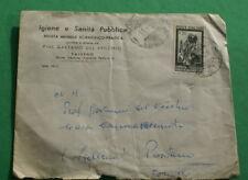 ITALIA 1951 CAMPIONATI MONDIALI  CICLISMO MILANO, SU BUSTA VIAGGIATA