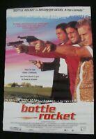 BOTTLE ROCKET movie poster WES ANDERSON OWEN WILSON original 1996 video promo