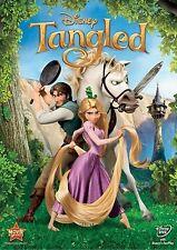 Tangled (DVD, 2011) Disney Rapunzel -  Includes Slipcover