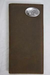 ZEP-PRO Mississippi State Bulldogs Crazy Horse Leather Roper WALLET ONLY NO BOX
