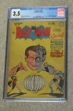 Batman 50 CGC 3.5 Golden Age 1948 The Return of Two-Face Rare
