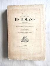 Léon Gautier - La Chanson de Roland - Eaux-Fortes de Chifflart & Foulquier 1872
