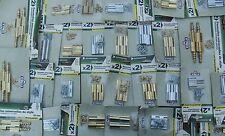 Revendeur ou Artisan,,Lot de 2,8 KG Charnières,Paumelles de Style, LAITON MASSIF