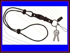 2 GENUINE RARE ZIPPO LANYARDS (1 CORDED & 1 WOVEN) NEW IN SEALED PLASTIC WRAP