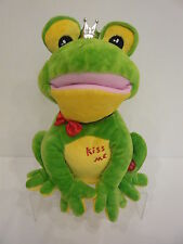 grenouille peluche articulée chante only you et dance 38 cm