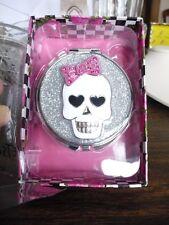 skull mirrow Betsey Johnson silvertone