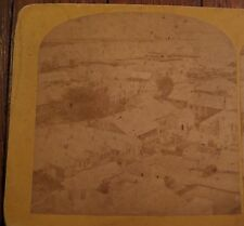 Nantucket, Northeast From the Tower, Antique Kilburn Stereoview Card