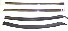 1968-1972 Chevrolet Chevelle & SS rear quarter window seal retainers & seals