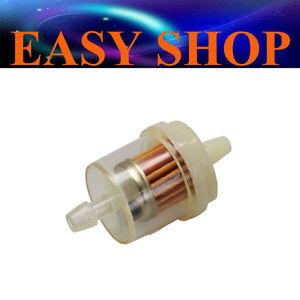 6mm Inline Magnet Fuel Filter Cleaner 50cc 90cc 110cc 125cc DIRT PIT PRO BIKE
