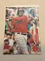 2020 Topps Baseball UK Edition Base Card - Rafael Devers - Boston Red Sox