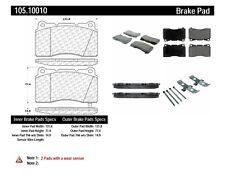 Disc Brake Pad Set-Posi-Quiet Ceramic Disc Brake Pad with Shims Front,Rear