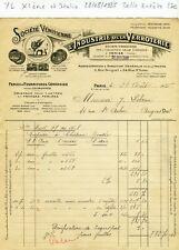 Paris XI ème 2 Rue Bréguet & Venise - Belle Entête Secteur de la Verroterie 1925