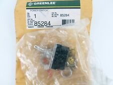 Greenlee 85284 Toggle Power Switch S-T D-P 20A 277V Nos