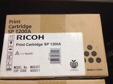 Lot of 2 Ricoh Print Cartridge SP 1200A Ink Toner - Black