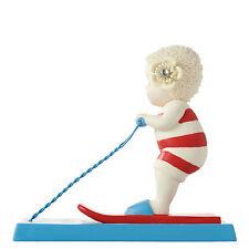 Snowbabies - Beech Babies Skiing the Wake Figurine NEW  28023
