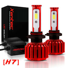 Xentec 120W 30000lm LED Lights Kit White Headlight H7 6000K 6K High or Low Beam
