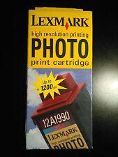 CARTOUCHE ENCRE ORIGINAL LEXMARK 12A1990