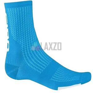 Cycling Socks Giro Hrc Team 2017 Blue Jewel/White L Thermal Shin Protection