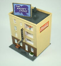Abby's Hotel building N Scale 4 story Detailed Hand Painted Weathered