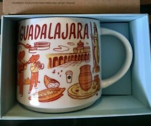 Starbucks Coffee Been There Series 14oz Mug GUADALAJARA Mexico Cup w/SKU