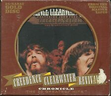 Credence clearwater revival (CCR) Chronicle vol.1 24 carats gold CD avec slipcase
