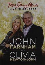 Two Strong Hearts: Live in Concert by John Farnham/Olivia Newton-John (DVD, Aug-2015)