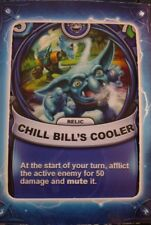 Skylanders Battlecast Collector's Card Relic Chill Bill's Cooler