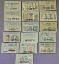 Lot of 16 Jamestown Stamp Co. sets Romania, Germany, Russia, Djibuti &  More