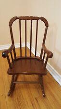Vintage Wooden Child's Rocking Chair - 11 253