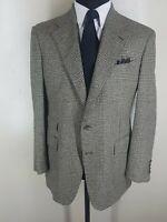 POLO by RALPH LAUREN Vintage 100% Raw Silk Sport Coat 2 Btn. 42 R -Fit 42-44 Reg
