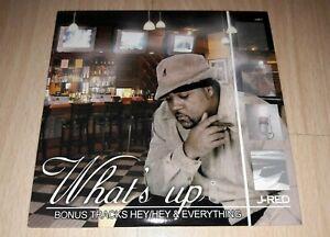 J-RED - What's Up - Album CD Indie R&B Rnb  (ex AVERAGE GUYZ) - RARE