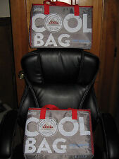 COORS LIGHT BEER SOFT COOLER COLLAPSIBLE BAGS SILVER BULLET INSULATED SET OF 2 !
