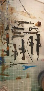 1/12 Scale Action Figure Accessories, Guns, Weapons