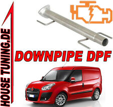 Tubo Rimozione FAP DPF Downpipe Fiat strada Qubo 1.3 Mjet JTD 85 cv Euro5 T5AB