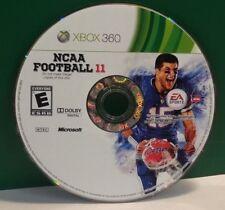 NCAA Football 11 (Microsoft Xbox 360, 2010) DISC ONLY 13397