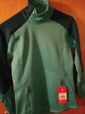 NWT Spyder Womens Size S Bandita Light Weight Stryke Jacket Teal Shades MSRP $89
