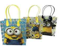 12 Despicable Me MINIONS Party Favor Goody gift Candy bags birthday goodie