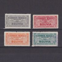 BOLIVIA 1932, Sc# C36-C39, part set, air mail, MH/Used