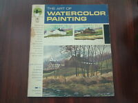 Vintage book The Art of Watercolor Painting how to instruction book step by step