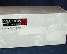 """ERTL 1913 FORD MODEL T SPEEDSTER WHITE 1/18 VHTF """"PRECISION 100"""" w COA"""
