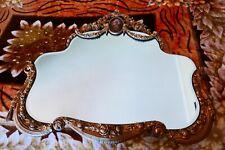 ".Vintage Antigua Style Very Decorative Mirror H-28""W-32 1/2""."
