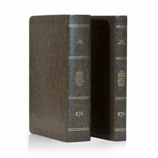 "PERRY STONE-""Old & New  Testament Bible Bundle (Standard Edition) Chestnut"
