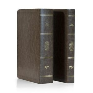 """PERRY STONE-""""Old & New  Testament Bible Bundle (Standard Edition) Chestnut"""