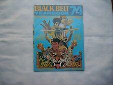 Black Belt Yearbook 1974 Judo and Karate